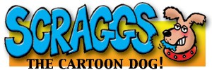 Scraggs The Dog – dog cartoons